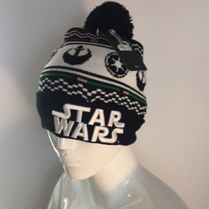 Disney Star Wars beanie stocking hat NWT